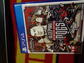 Sleeping Dogs... PS4 £10