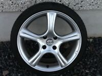 17INCH 4/108 PEUGEOT CITREON FORD ALLOY WHEELS WITH TYRES FIT MOST MODELS