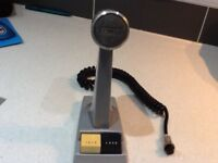 Desk microphone......Desktop scanner.....Audio items
