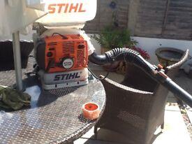 Stihl SR420 petrol leaf blower good working order