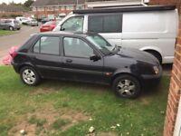 Ford Fiesta 02 Plate 1.2 Black £300