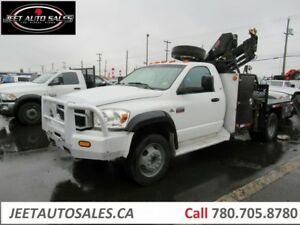 2009 Dodge Ram 5500 SLT Picker Crane