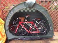 bike tent/ outside storage
