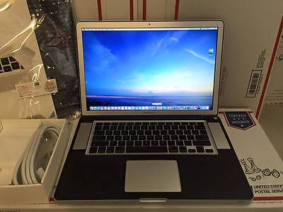 "CUSTOM 15"" APPLE MACBOOK PRO LAPTOP~QUAD CORE I7~2.4GHZ~16GB~1TB SSD~ANTIGLARE!!"