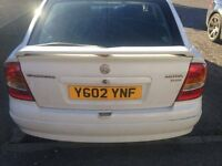 VAXHALL ASTRA 1.7 DTI 2002 ( SPARES OR REPAIRS}