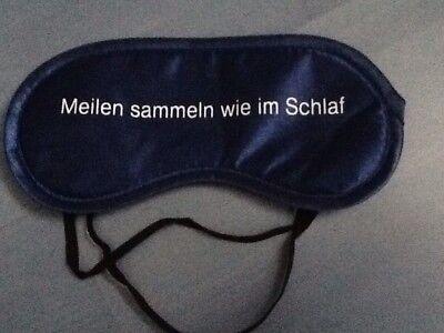Air Berlin Schlafmaske Meilensammeln Wie Im Schlaf