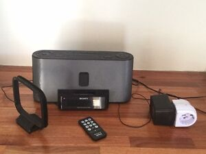 Sony FM/AM Clock Radio Ascot Vale Moonee Valley Preview