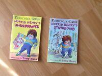 Two horrid Henry books