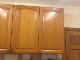 Solid Oak Kitchen Units