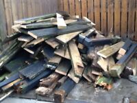 FREE*****. Timber/wood old decking boards
