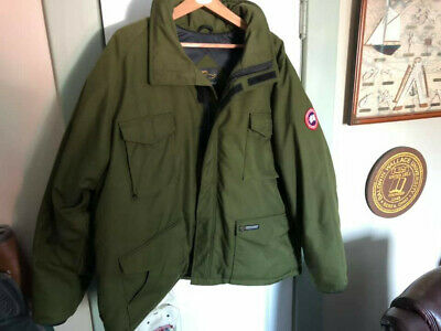 Men's Clothing Canada Goose Down Parka Canadian Army Field -