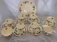 Colclough Ivy Pattern Tea Set