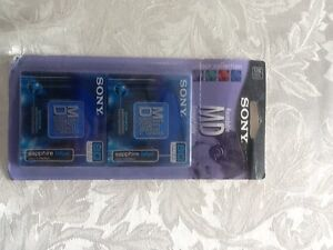 Sony recordable MD mini disks