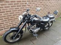 jinlun 125cc cruiser nice bike learner legal moted