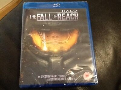 HALO The Fall of Reach BLU-RAY Feature Movie NEW & SEALED Master Chief's Origin - Origins Of Halloween Activity