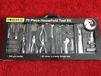 Tool set (new) -70 piece from Homebase