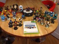 Xbox 360 Skylanders Series 1 Spyros Adventure game, portal and 26 figures and extras