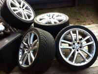 """Mercedes alloy wheels (set of 4) 19"""""""