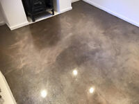 Polished Concrete Worktops and Floors