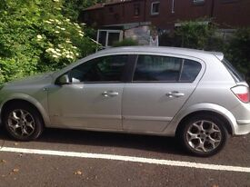 Vauxhall Astra Silver 1.4 Excellent Condition