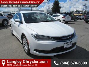 2016 Chrysler 200 LX *MANAGERS SPECIAL*