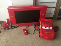 "Disney Pixar cars 19"" television kids Freeview"