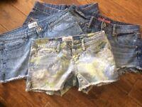 Ladies Denim Shorts Bundle size 8-10
