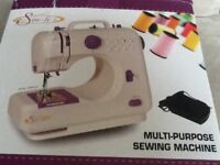 Sew-lite sewing machine.