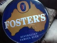 RETRO FOSTERS Beer sign