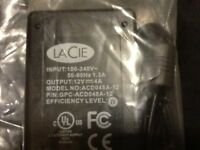 LACIE power adapter