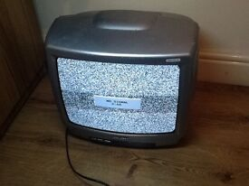 Television (TV) and separate Goodmans DVD player