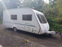 Sterling Eccles Moonstone 4 berth caravan 2007 AWNING, VGC, Bargain !!