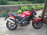 CAGIVA RAPTOR 650IE for sale, low miles, with SH and old MOT's. Very well looked after.