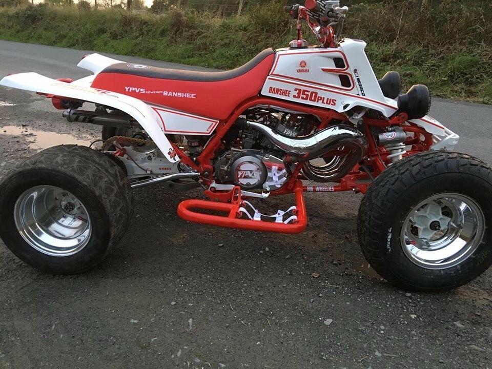Yamaha Banshee 350 Ypvs Harry Barlow Tuned Big Wheelie Build