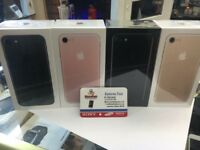 Unlocked iphone 7 256GB brand new Condition come with warranty