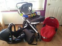 Quinny Buzz Travel System.