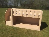 bunk bed with stairs £99
