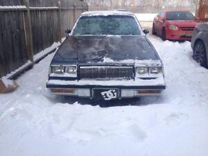 1887 Buick Regal!! 3,500 OBO!!!