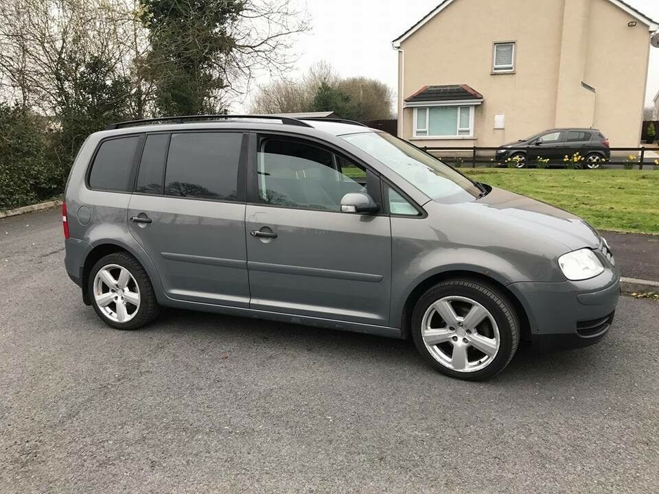 vw touran 7 seater 1 9 tdi 2005 in dungannon county. Black Bedroom Furniture Sets. Home Design Ideas