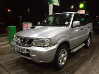 2004 54 Nissan Terrano 3.0 Turbo Diesel **39,000 Genuine Miles** 7 Seater ** not discovery shogun