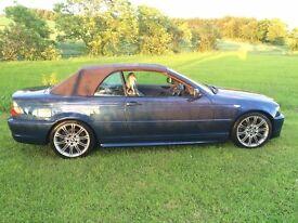 BMW 3 Series 3.0 330 Cd Sport 2dr Convertible. 2005/05,£3995