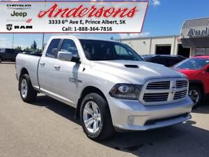 2016 Ram 1500 Sport *3.92 Axle/Heated Seats*