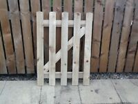 Garden/picket gate