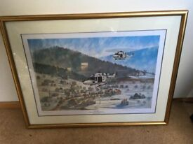 Limited Edition Bosnia / Army Air Corps Picture