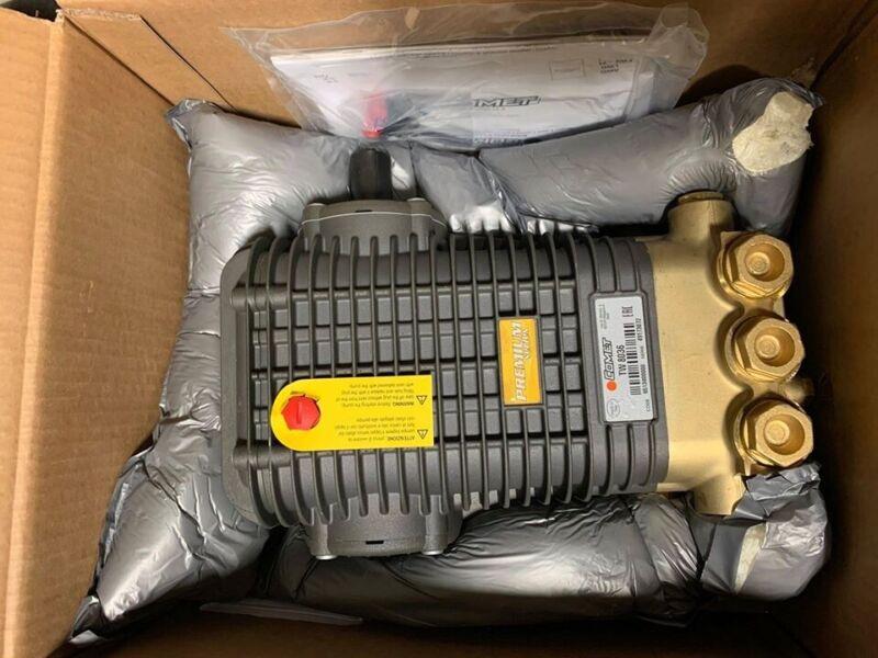 COMET TW 8036 S SOLID SHAFT PRESSURE WASHER PUMP (Brand New)