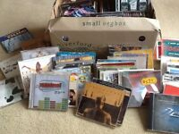 Box of 150 CD singles. Music late 1990s to early 2000s. Pick up East Barnet