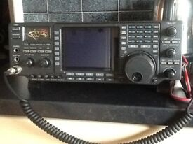Icom Ic-756 in the box and Psu
