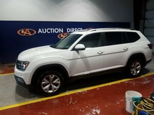 2018 Volkswagen Atlas 3.6 FSI Highline HUGE PANO SUNROOF, LEA...
