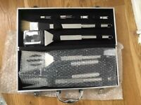 BBQ Grill Tools Set,Discoball Stainless Steel Utensils with Aluminium Case