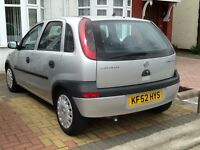 VAUXHALL CORSA 5 DOOR +AUTOMATIC+FULL HPI CLEAR REPORT+VERY GOOD CONDITION IN SIDE &OUT SIDE